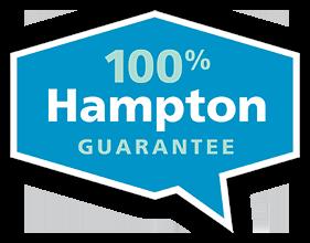 100% Hampton Guarantee