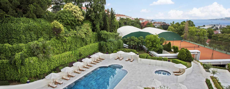 Conrad Istanbul hotel, Turkey - Summit Bar - Exterior Pool