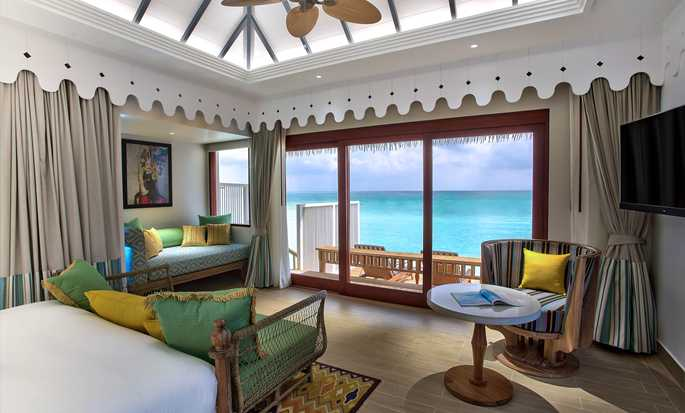 SAii Lagoon Maldives, Curio Collection by Hilton, Maldives - Guest Room