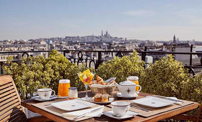 Maison Astor Paris, Curio Collection by Hilton hotel, France - Rooftop Breakfast