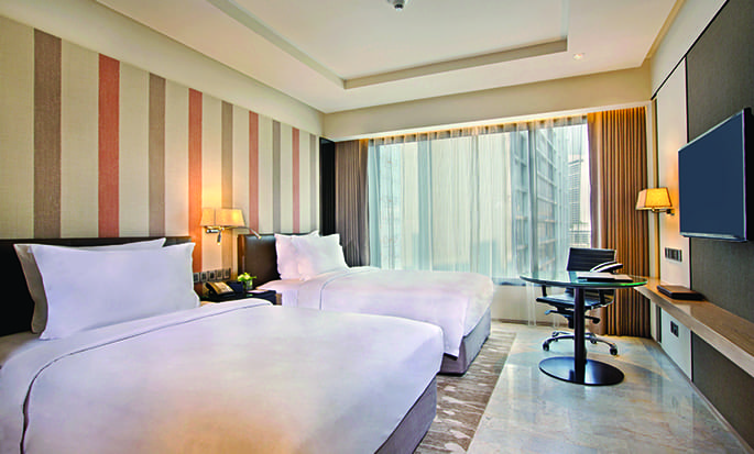 DoubleTree by Hilton Sukhumvit Bangkok - Guest Room