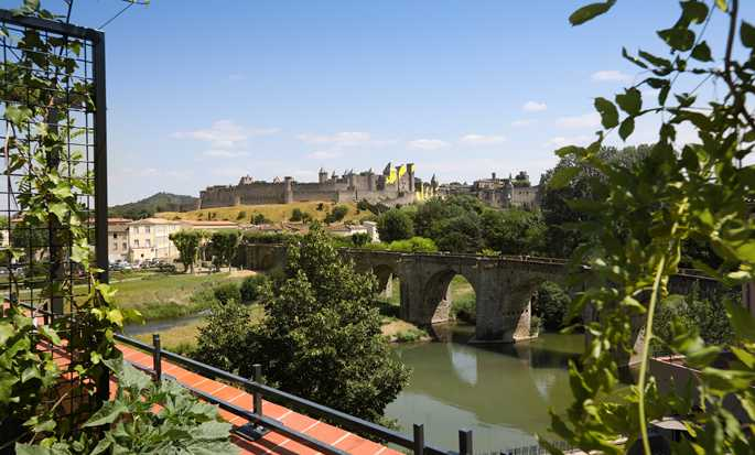 DoubleTree by Hilton Carcassonne hotel, France - View from room