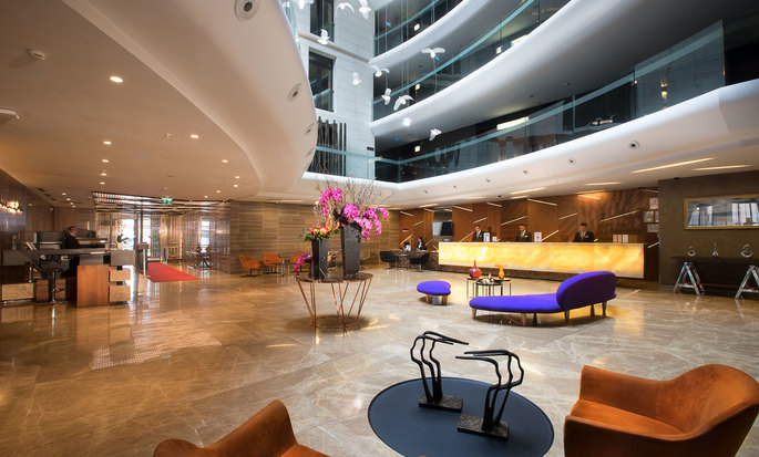 DoubleTree by Hilton Hotel Istanbul - Old Town, Turkey -  Lobby