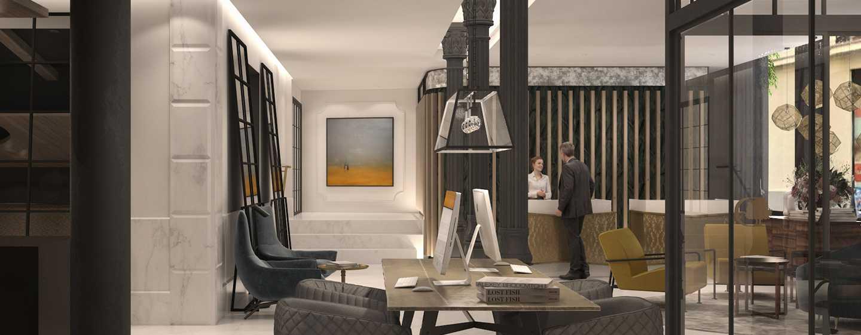 DoubleTree by Hilton Madrid-Prado hotel, Spain - Lobby