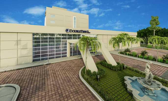 DoubleTree by Hilton Managua hotel, Nicaragua - Hotel Exterior