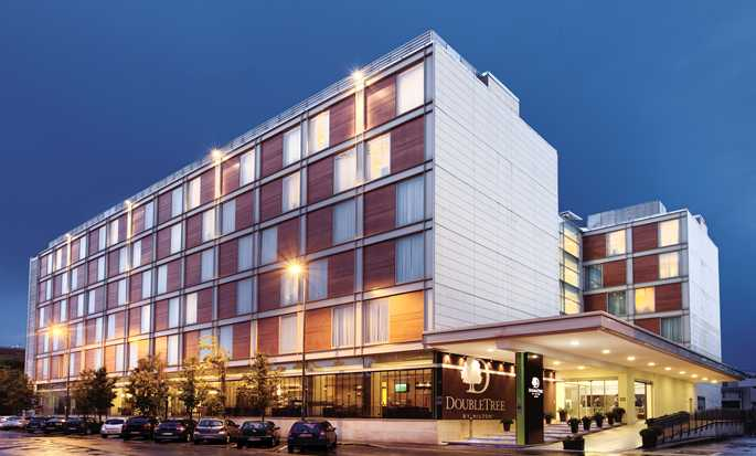 DoubleTree by Hilton Hotel Milan, Italy - Hotel Exterior at night