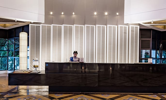 Doubletree by Hilton Penang hotel, Malaysia - Reception