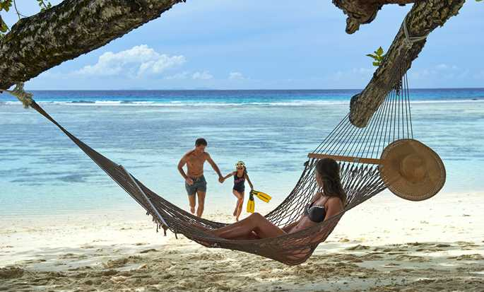 DoubleTree by Hilton Seychelles - Allamanda Resort & Spa, Seychelles - Family on the beach