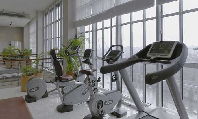 DoubleTree by Hilton Turin Lingotto hotel, Italy - Fitness Center