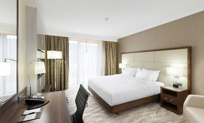 DoubleTree by Hilton Hotel & Conference Centre Warsaw, Poland - King Room with Terrace