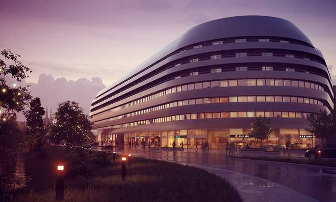 DoubleTree by Hilton Hotel Wroclaw, Poland - Hotel Exterior