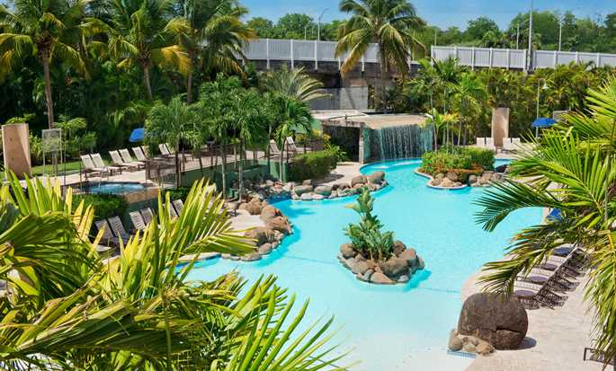 Embassy Suites by Hilton San Juan Hotel & Casino, Puerto Rico - Lagoon style pool