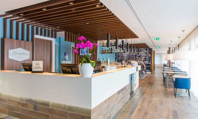 Hampton by Hilton Amsterdam Centre East hotel, Netherlands - Reception
