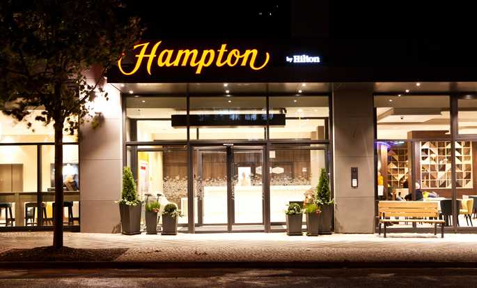 Hampton by Hilton Berlin City East Side Gallery hotel, Germany - Exterior