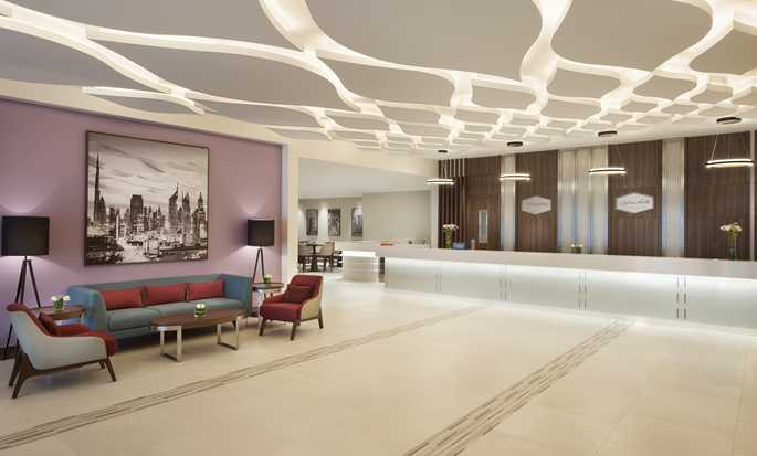 Hampton by Hilton Dubai Airport, UAE - Lobby Reception