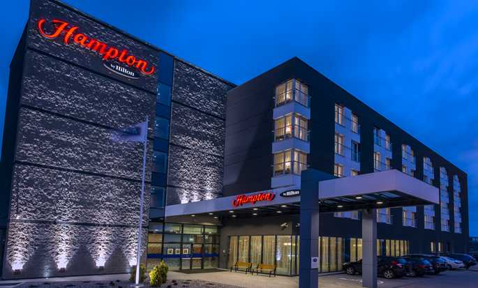 Hampton by Hilton Gdansk Airport hotel, Poland - Hotel Exterior