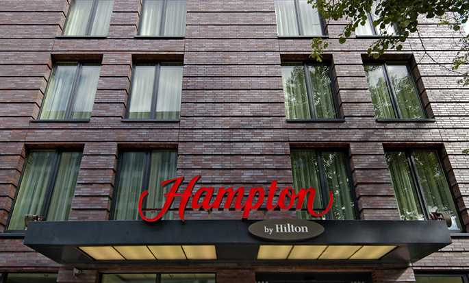 Hampton by Hilton Berlin City West hotel, Berlin, Germany - Hotel Exterior