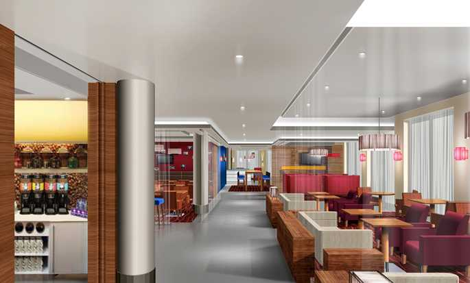 Hampton by Hilton Berlin City West hotel, Berlin, Germany - Lobby and Reception