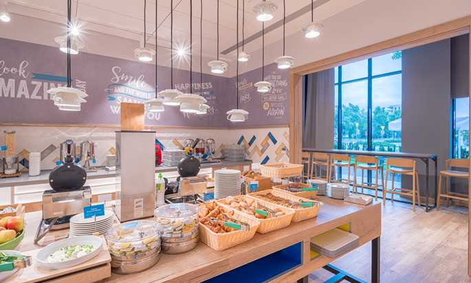 Hampton by Hilton Warsaw Mokotow hotel, Poland - Breakfast Buffet