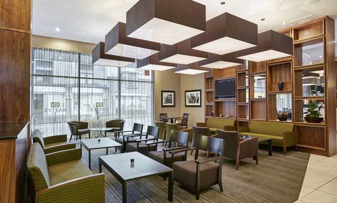 Hilton Garden Inn Aberdeen City Centre hotel, Aberdeen, UK - Lounge