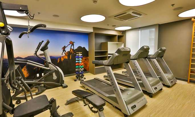 Hilton Garden Inn Santo Andre, Brazil - Fitness Center