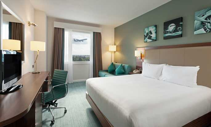 Hilton Garden Inn London Heathrow Airport, UK - King Room