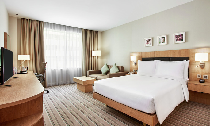 Hilton Garden Inn Massy, France - Guest Room with Queen Bed