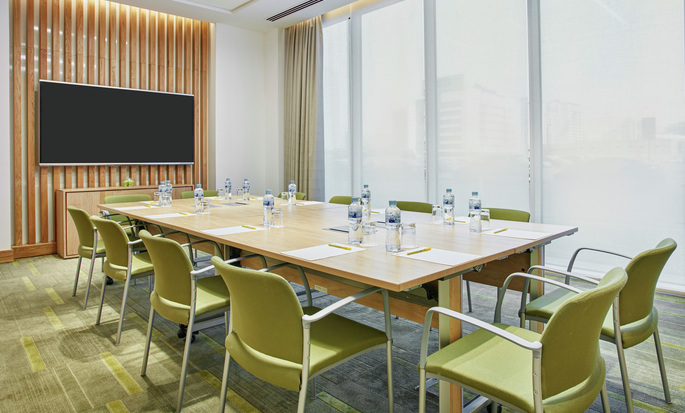 Hilton Garden Inn Paris Orly Airport, France - Meeting Room with City View