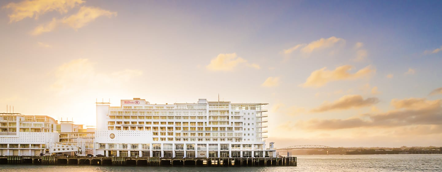 Hilton Auckland hotel, New Zealand - Waterfront location