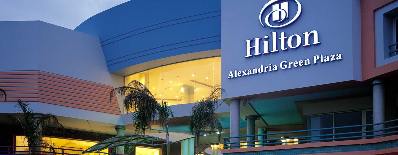 Hilton Alexandria Green Plaza hotel, Alexandria, Egypt - Exterior