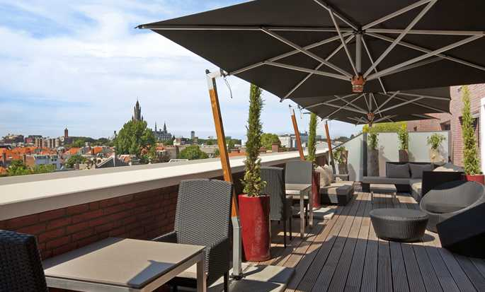 Hilton The Hague, Netherlands - Executive Lounge Terrace