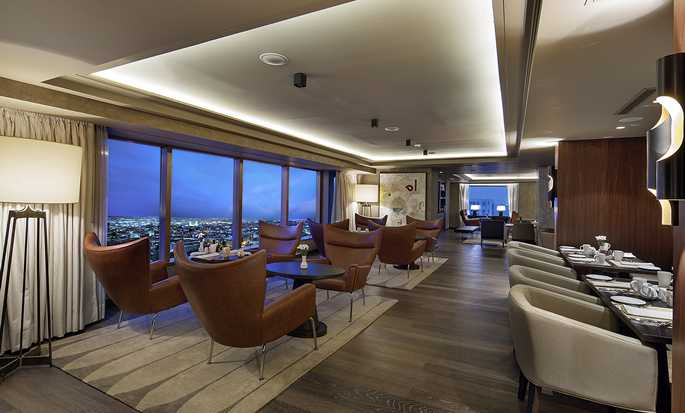 Ankara HiltonSA hotel, Turkey - Executive Lounge