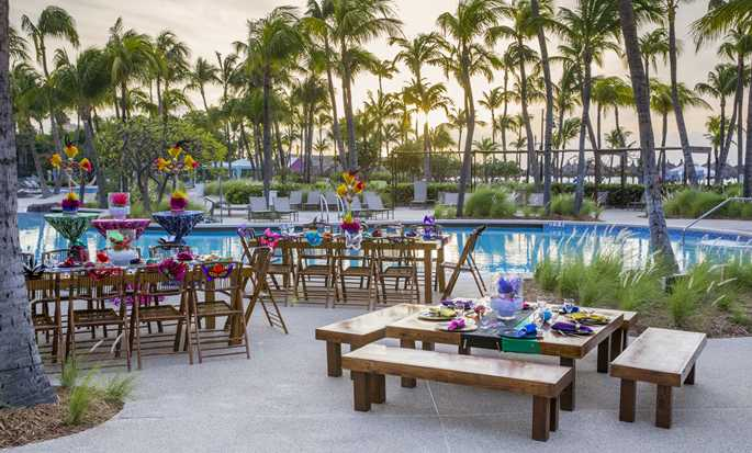 Hilton Aruba Caribbean Resort & Casino hotel, Aruba - Pool Event