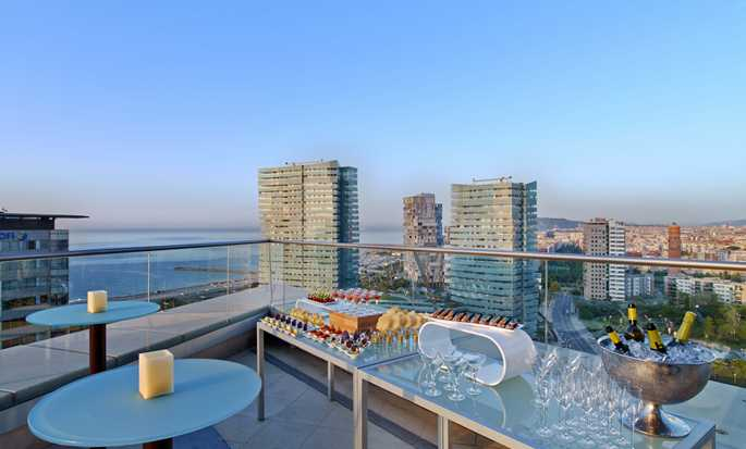 Hilton Diagonal Mar Barcelona Hotel, Spain - Executive lounge