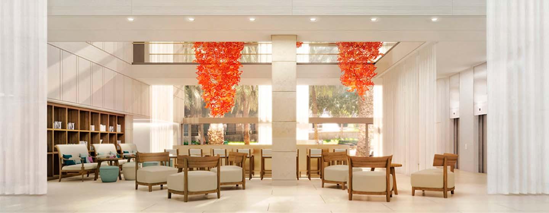 Hilton Barcelona Hotel, Spain - The Lobby bar