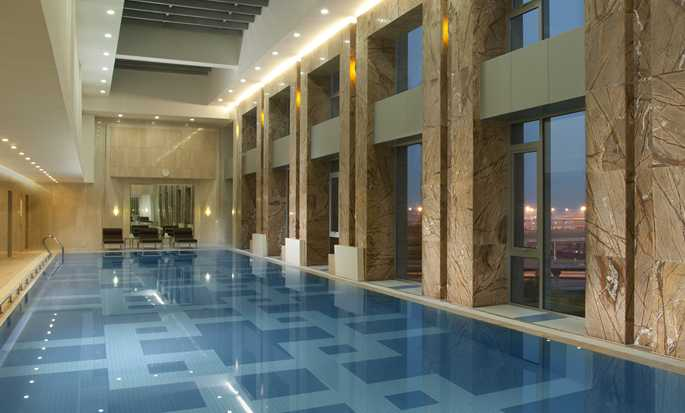 Hilton Beijing Capital Airport, China - Pool