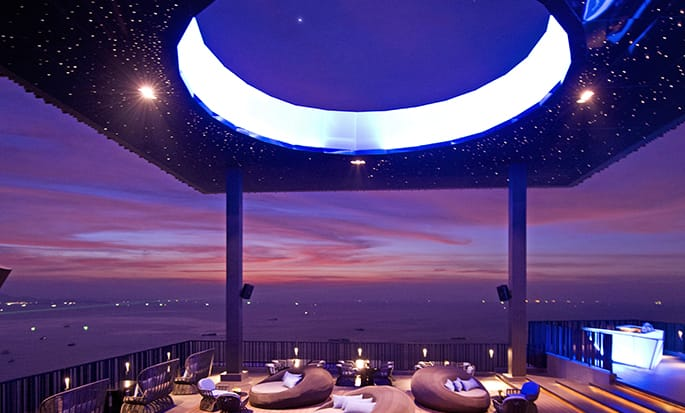 Hilton Pattaya - Horizon Rooftop Restaurant and Bar