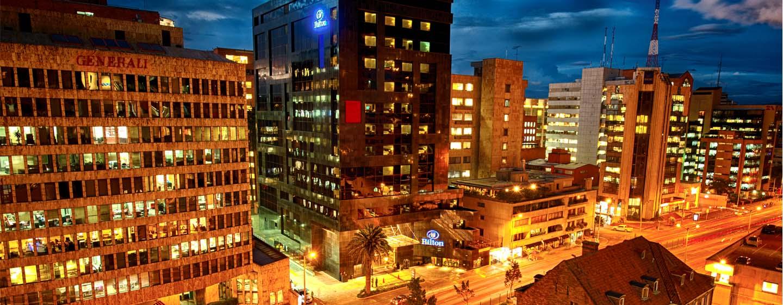 Hilton Bogota hotel, Colombia - Hotel Exterior