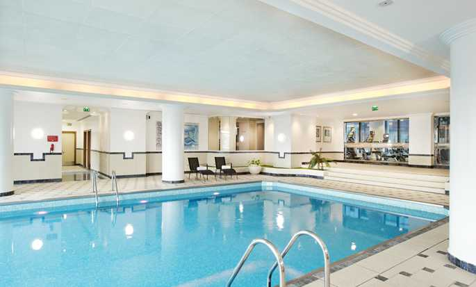 Hilton Paris Charles de Gaulle Airport hotel, France - Indoor Pool
