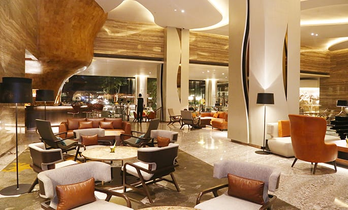 Hilton Colombo Hotel, Sri Lanka - The Lobby