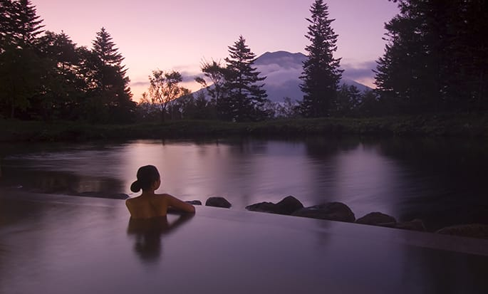 Hilton Niseko Village hotel, Japan - Hot Spring