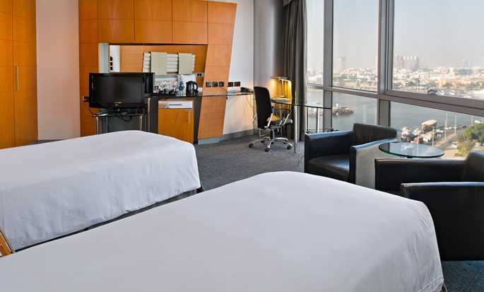 Hilton Dubai Creek Hotel, UAE - Twin Deluxe Room