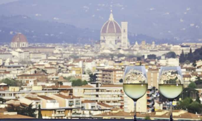 Hilton Florence Metropole hotel, Italy - City View