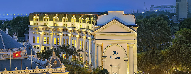 Hilton Hanoi Opera hotel, Vietnam - Hilton Hanoi Opera Exterior