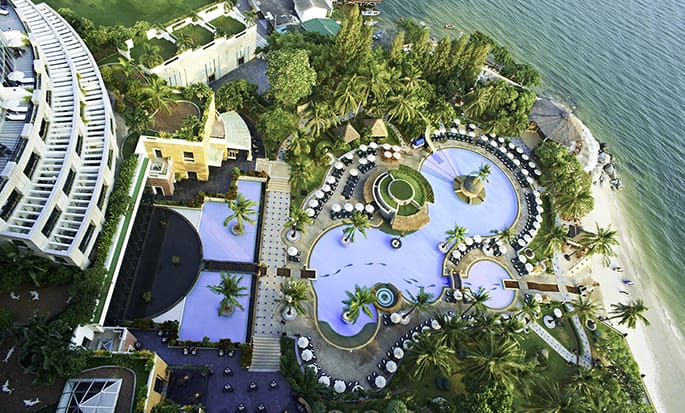 Hilton Hua Hin Resort & Spa hotel, Thailand - Pool