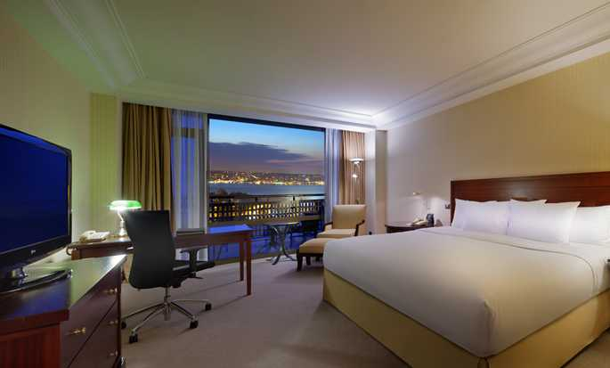 Hilton Istanbul Bosphorus, Turkey - King Executive Room With Bosphorus View
