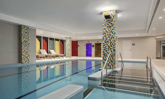 Hilton London Wembley hotel, UK - Heated indoor pool