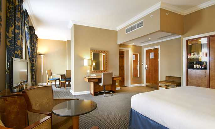 Hilton London Paddington hotel, UK - King junior suite