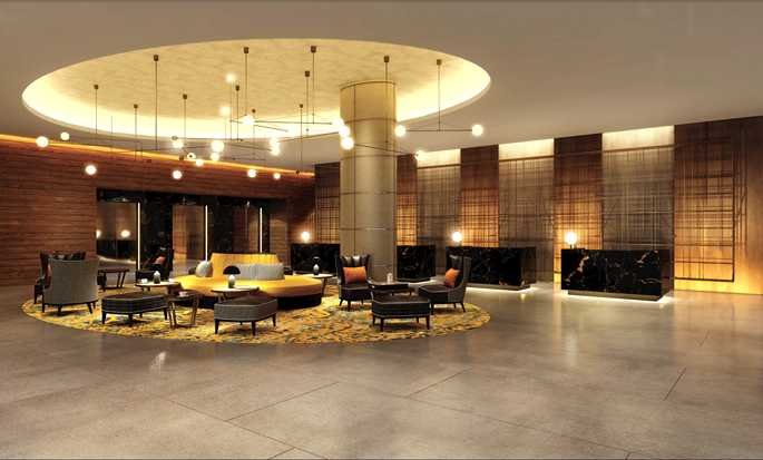 Hilton London Bankside, UK - Lobby