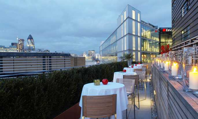Hilton London Tower Bridge hotel, United Kingdom - City Terrace